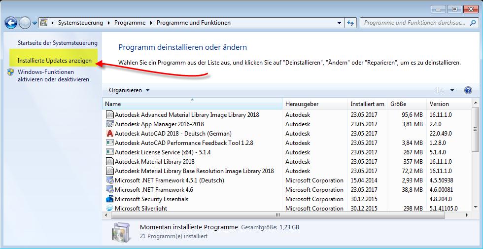 Basiswissen MSP-Datei / Patch deinstallieren